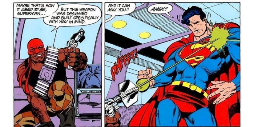 Bloodsport dispara Superman