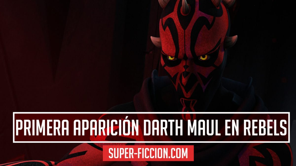 ¿Cuándo aparece Darth Maul en Star Wars Rebels?