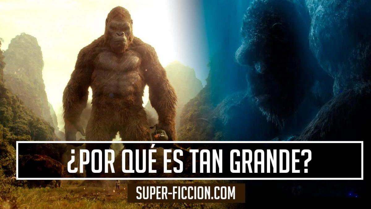 ¿Por qué Kong es tan grande?