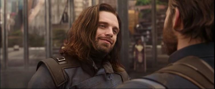 Bucky y el Cap en Wakanda