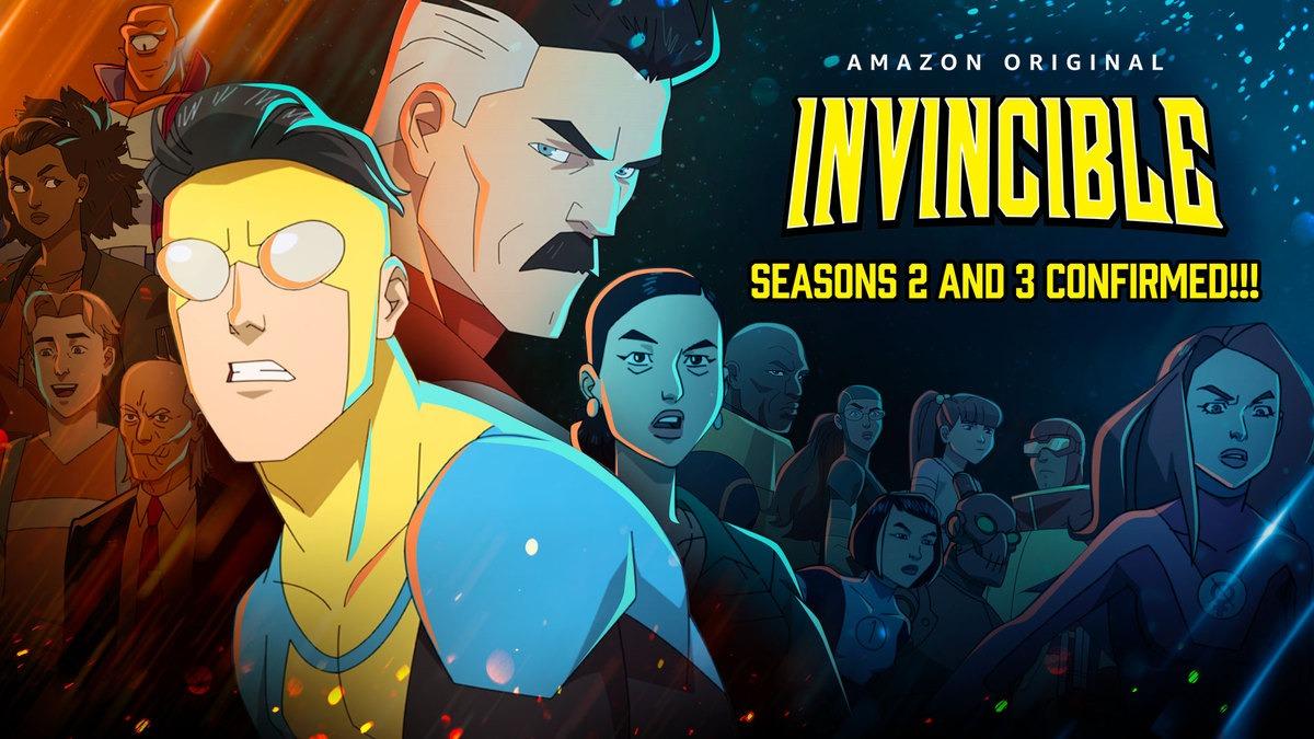 Invincible: Prime Video renueva la serie por una segunda y tercera temporada