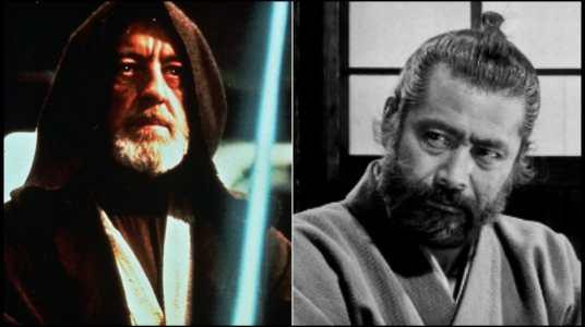 toshiro mifune podría haber sido obi-wan kenobi en star wars