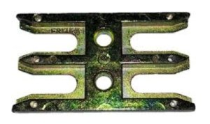 Window ventilation lock plate