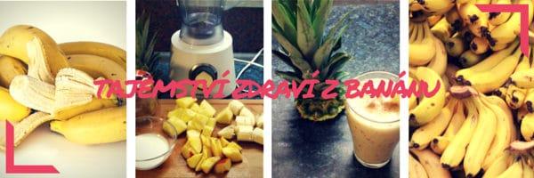Tajemství zdraví bananového smoothie