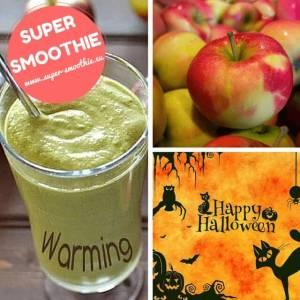 Pikantní jablečné smoothie - Halloween apple