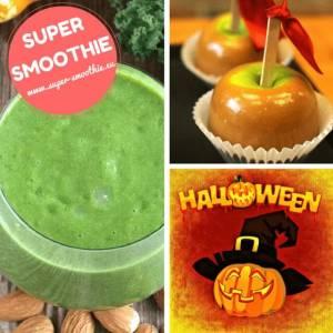 Zelené smoothie s kadeřávkem, jablkem, mandlemi a datlemi - Karamelové jablko