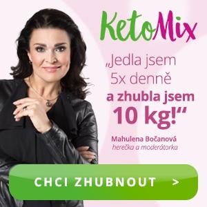 Hubni s KetoMixem jako Mahulena Bočanová