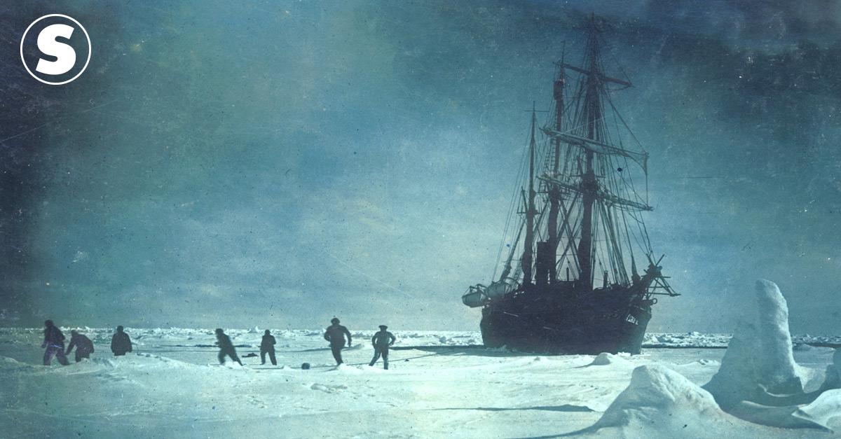 A incrível odisseia de Ernest Shackleton na Antártida