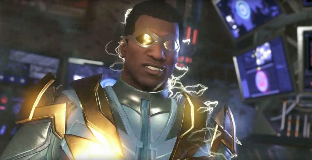 Black Lightning - Black DC characters as Alternate Skins in Injustice 2