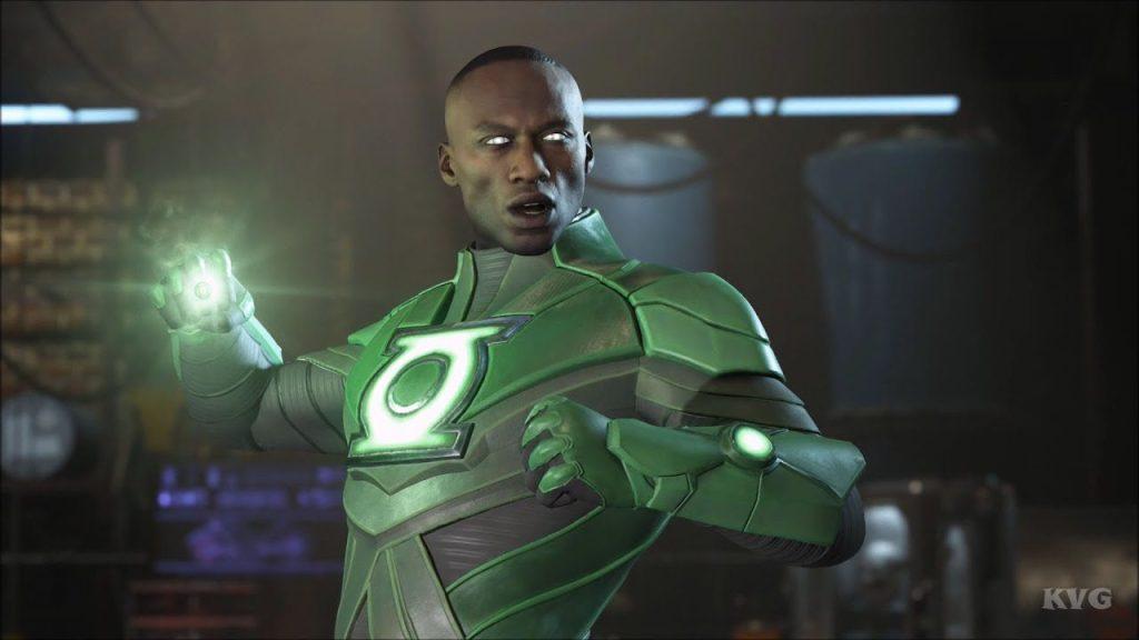 John Stewart -Black DC characters as Alternate Skins in Injustice 2