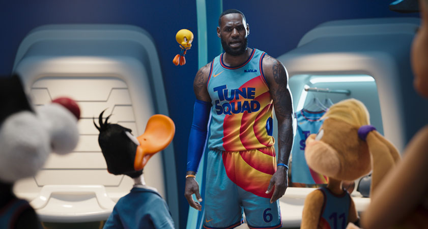 LeBron, Probably being mean to the Looney Tunes for no reason
