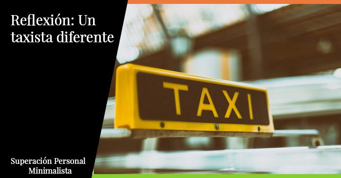 Reflexión: Un taxista diferente