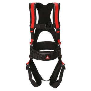 Deluxe Harness No Bags – Red