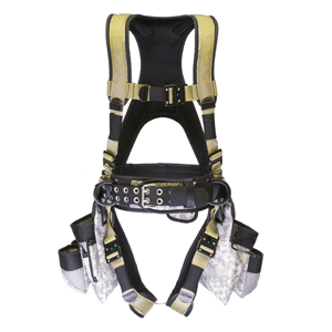 Deluxe Harness With Tool Bags - Digital Tan