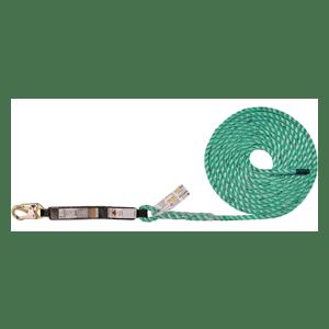 Maxima FA Fall Arrester Lifeline - No Rope Grab Options