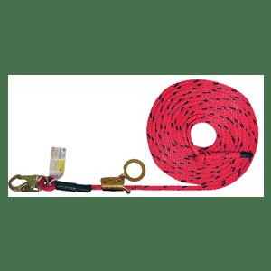 Deluxe Vertical Lifeline - ADP Fall Arrester Rope Grab Options