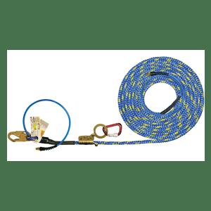 X-Line Pneumatic Lifeline Air System - ADP Fall Arrestor Rope Grab Options