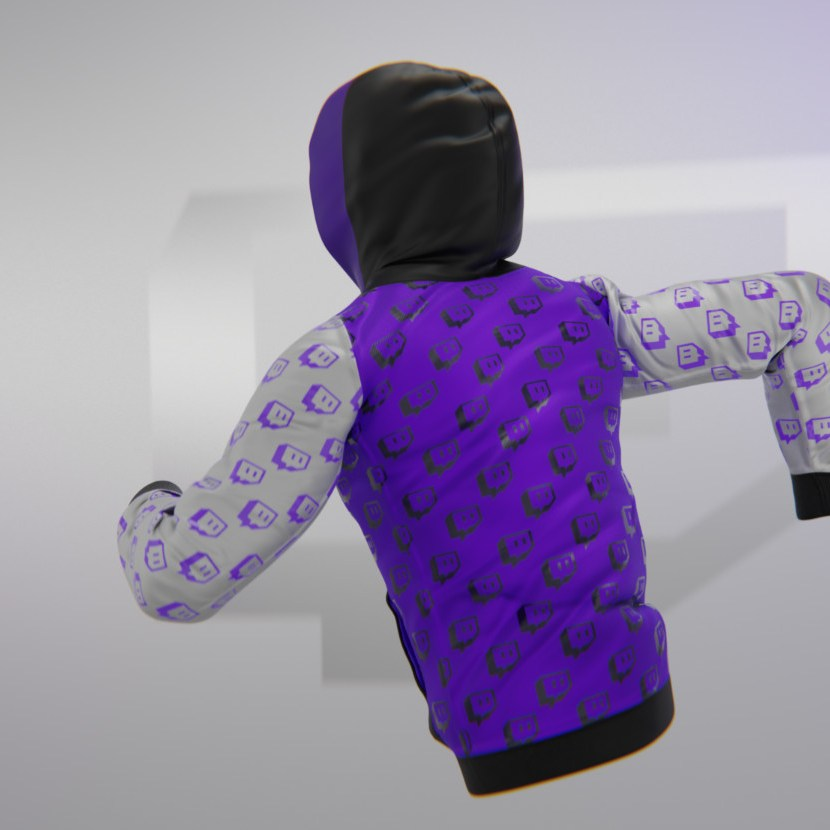 SupeRanked 009 Twitch Streetwear Hoodie - Back