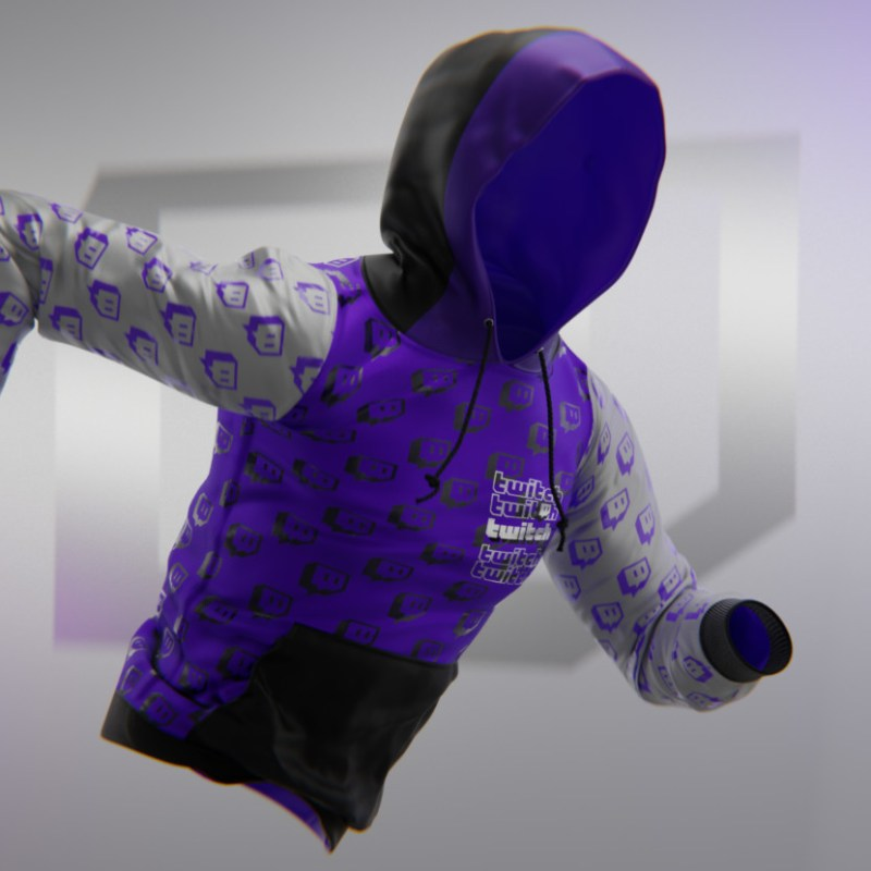 SupeRanked 009 Twitch Streetwear Hoodie - Front