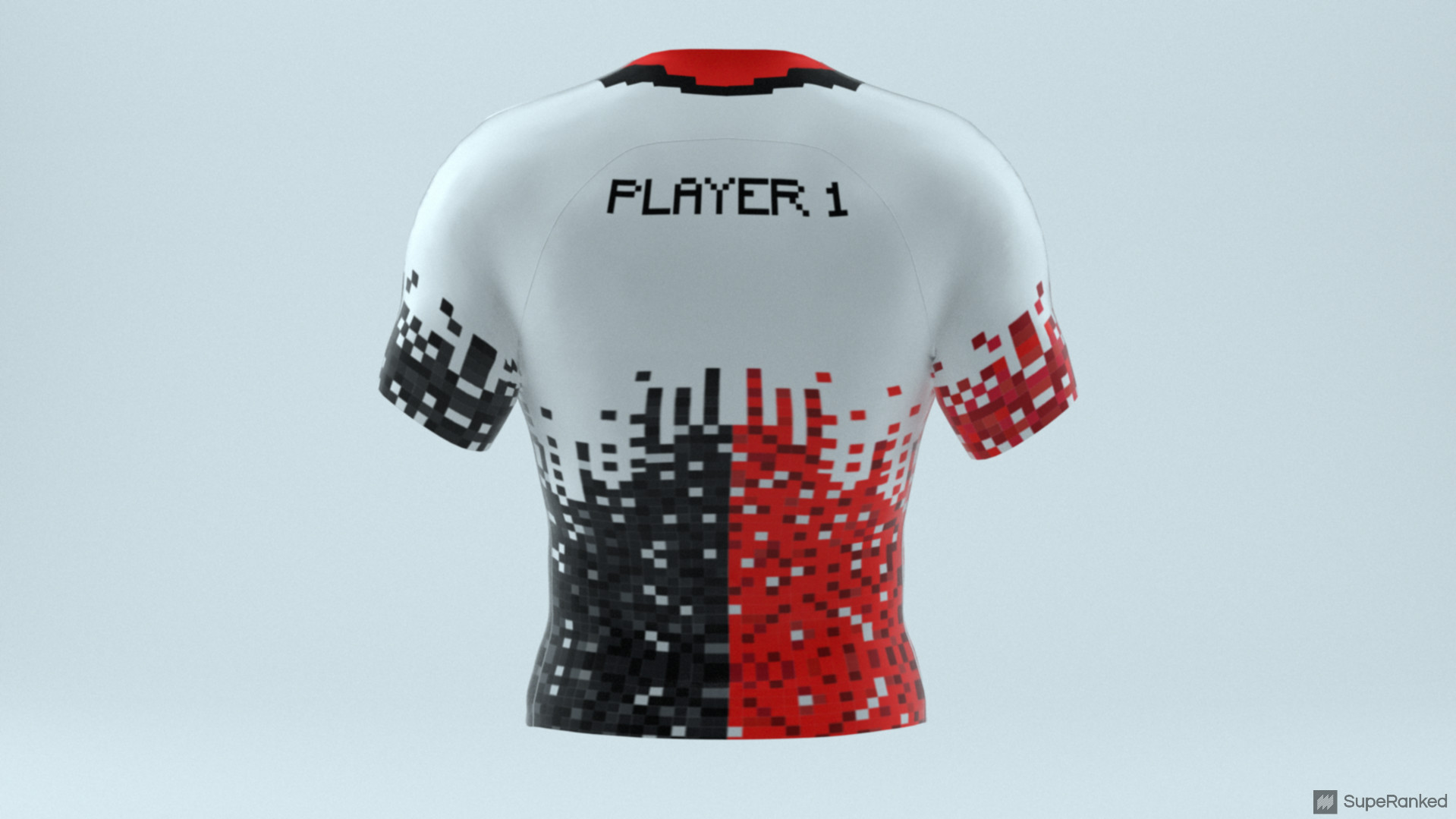 eSport Jersey AC Milan - Back White