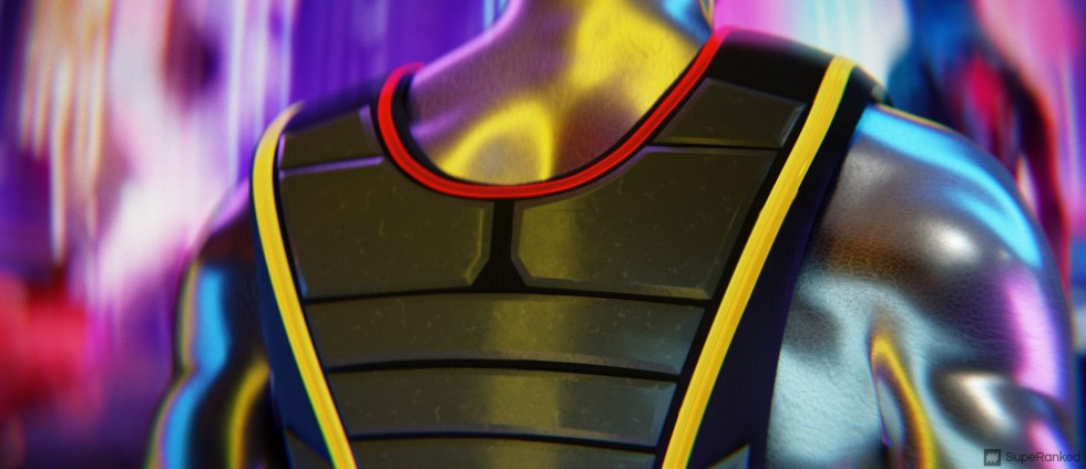 SupeRanked 013 Cyberpunk 2077 Backpack - Back Details 3