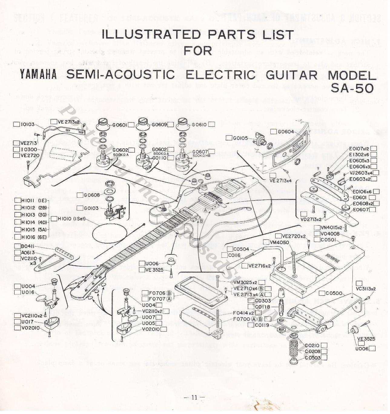 Yamaha Bass Guitar Case