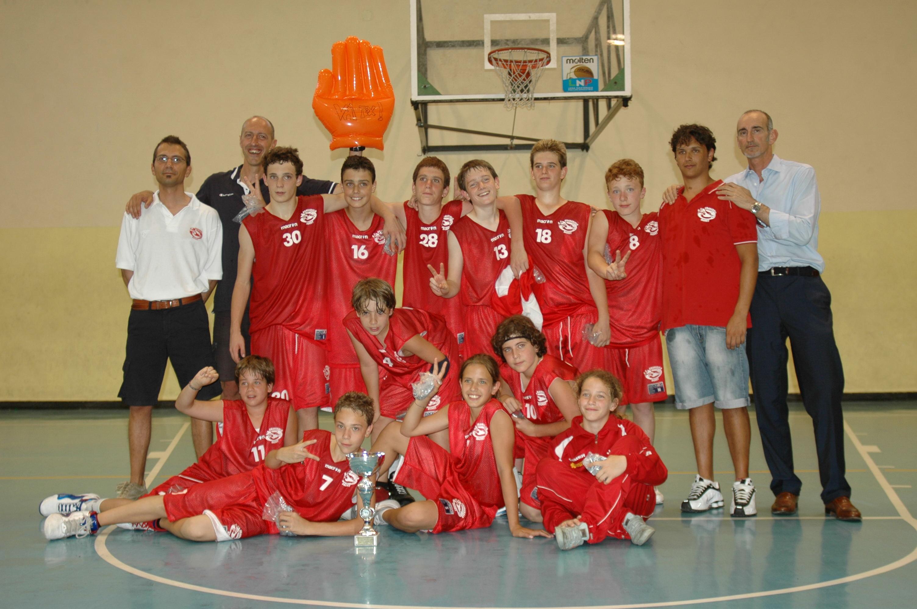G.S. Granarolo Under 13. In alto da sinistra: DI STASIO IVANO (vice allenatore ), CASELLA MASSIMILIANO  (allenatore), GALDIERO FRANCESCO (n.30 ), MANTOVANI FRANCESCO (n.16 ), BALDINI GIACOMO (n.28), DI GENNARO EDOARDO (n.13), GIOVANNINI MATTEO (n.18 ), ZAIO ALESSANDRO (n. 8), ALBANO DANIELE (vice allenatore), GIOVANNINI ANDREA (direttore sportivo). In basso da sinistra: VARRONE LORENZO (n.11), CARRARA SIMONE (n.7), PREZIOSO DAVIDE (n.4), ALDRIGHETTI MARTA (n.5), MUZZI JACOPO (n.10), TESSERIN ANNAMARGHERITA.