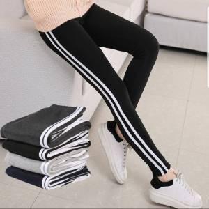 Pack of 4 Women Strips Pants Type Trouser