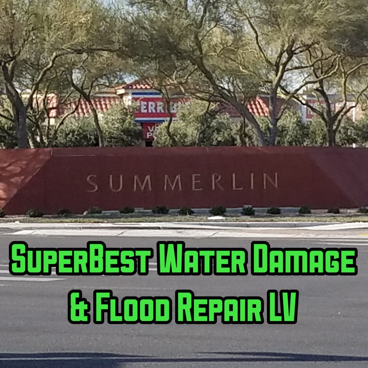 WATER DAMAGE LAS VEGAS
