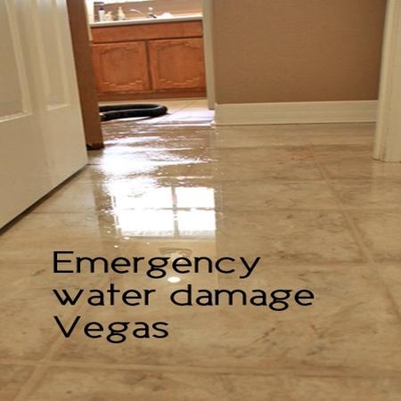 Emergency water damage Vegas