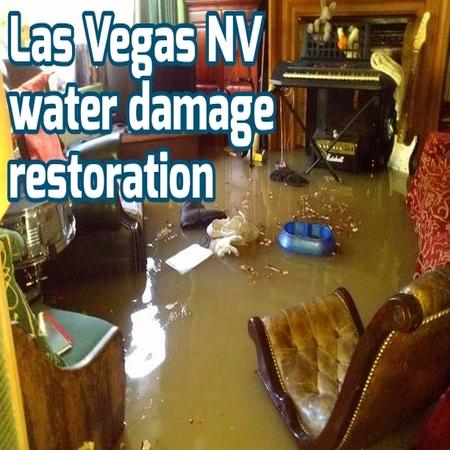 Las Vegas NV water damage restoration