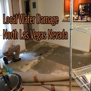 Local Water Damage North Las Vegas Nevada