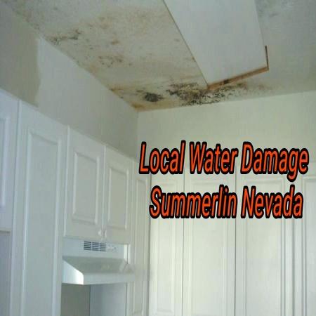 Local Water Damage Summerlin Nevada