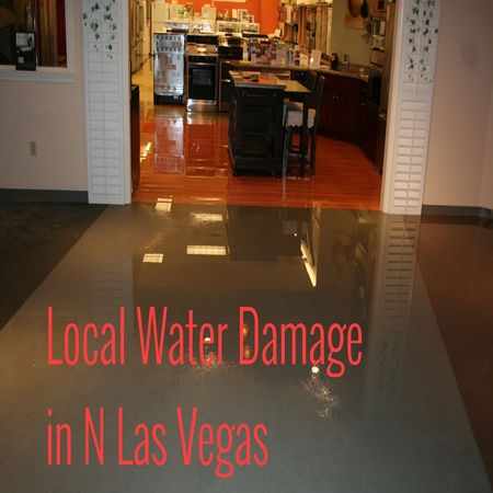 Local Water Damage in N Las Vegas