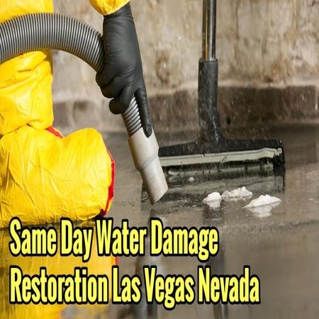 Same Day Water Damage Restoration Las Vegas Nevada