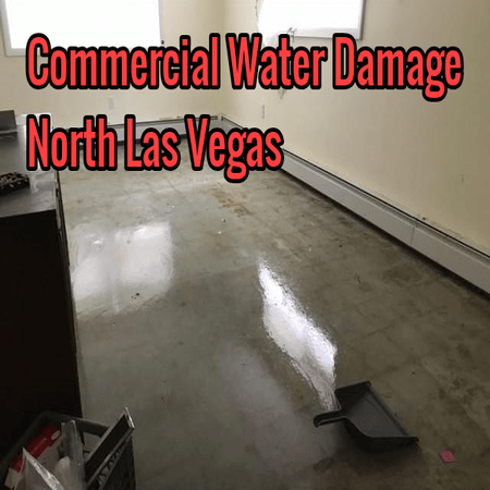 Commercial Water Damage North Las Vegas