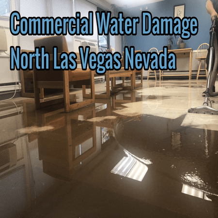 Commercial Water Damage North Las Vegas Nevada
