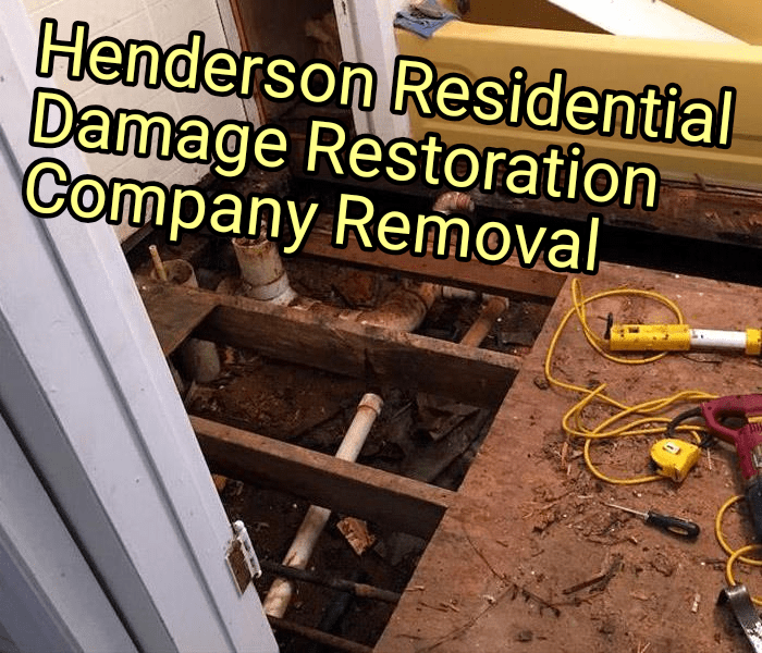 Henderson Residential Damage Restoration Company Removal