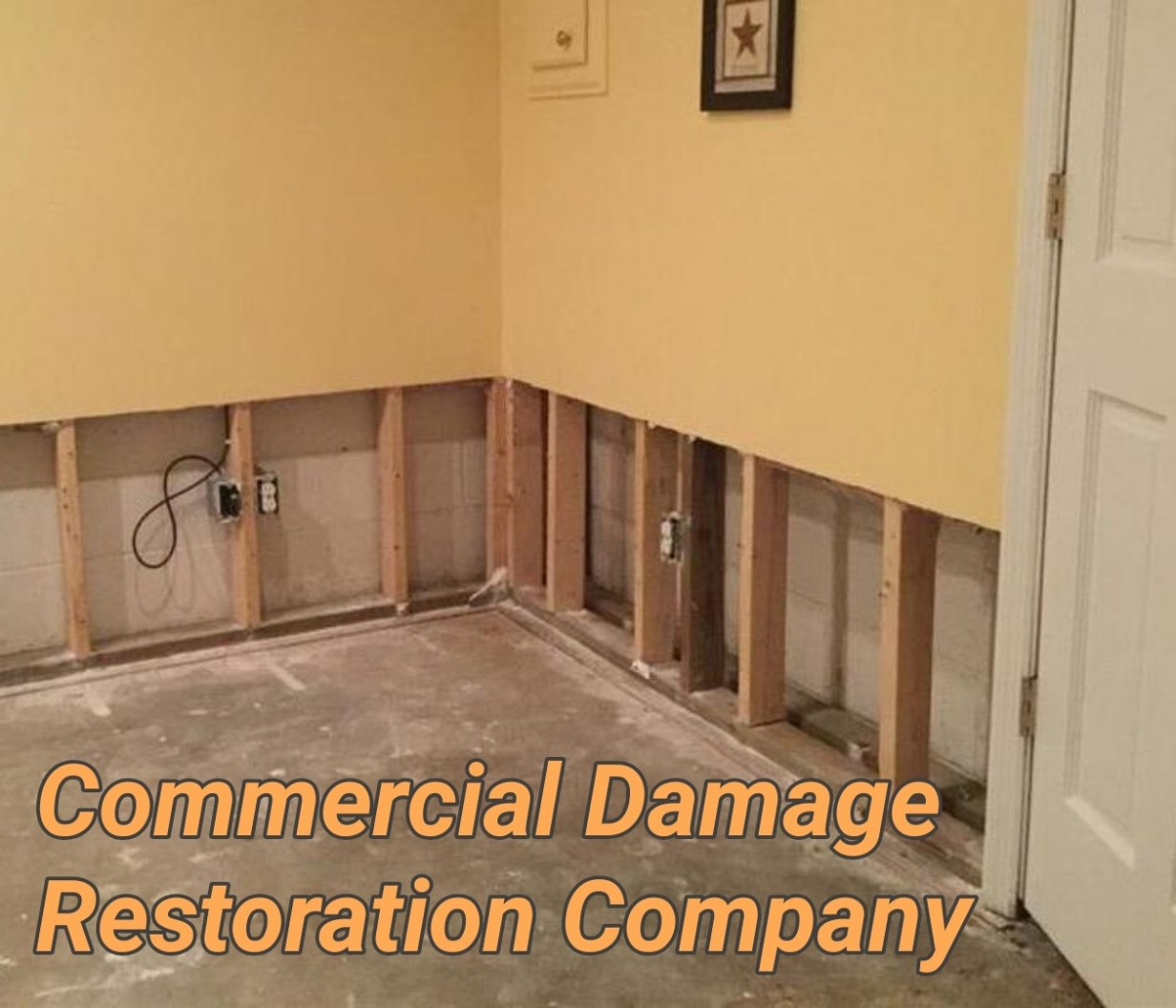 Commercial Damage Restoration Company