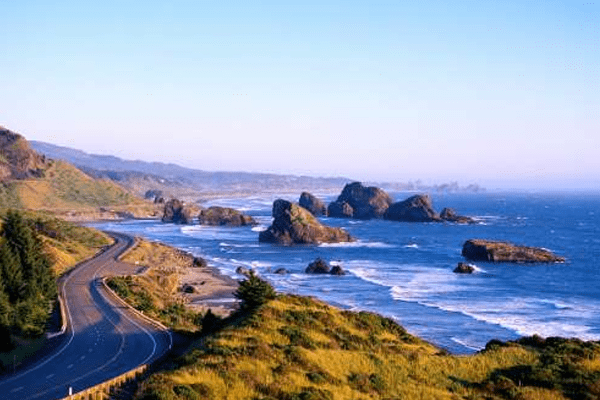 Best USA Road Trip States to Relieve Stress
