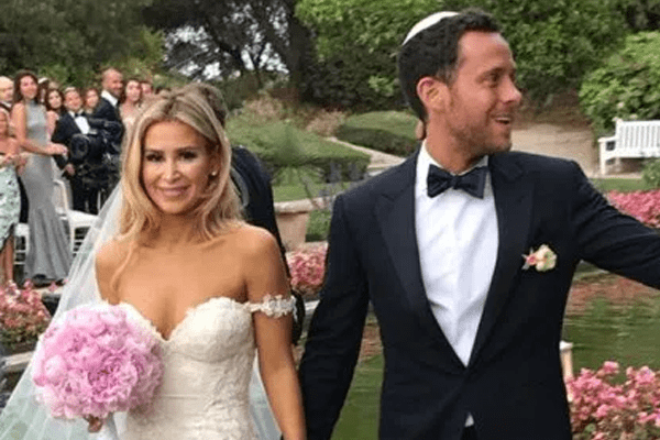 David Parnes gets married to Adrian Abnosi in a romantic ceremony in France