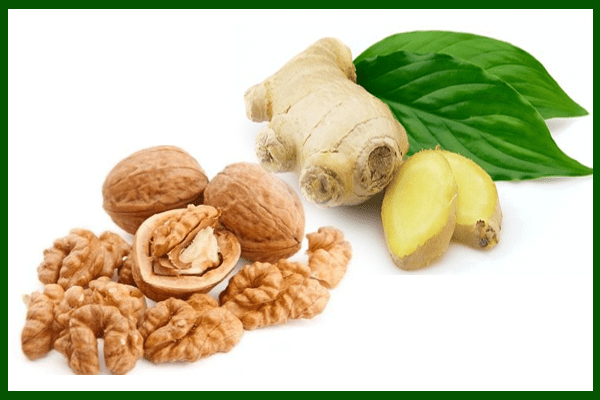 Ginger and Walnuts To Cure Asthma