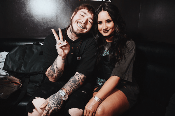 Post Malone and his girlfriend
