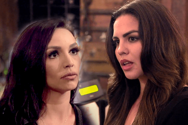 Katie Maloney - Schwartz and Scheana Shay! Katie opens up about their drama