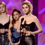 Billboard's Woman of the year 2017 music award! Selena Gomez on tears