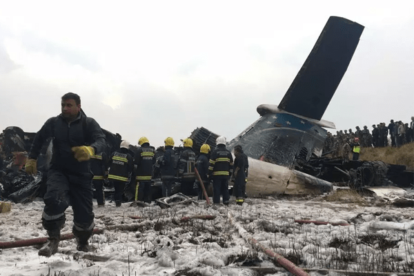 US-Bangla Plane Crash in Kathmandu TIA | Forty dead