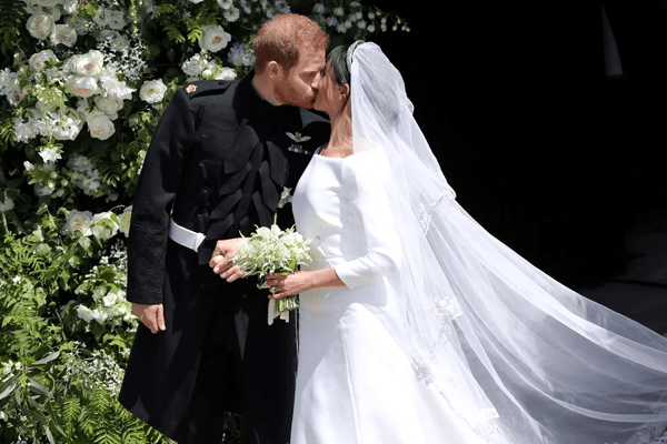 Royal Wedding; Prince Harry and Meghan Markle finally pronounced as husband and wife!