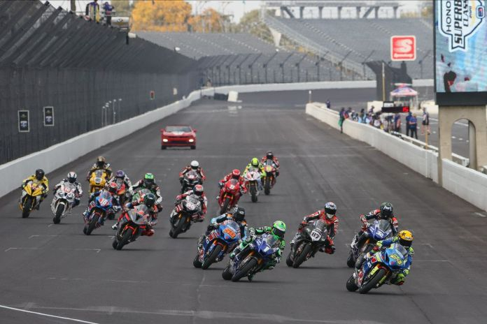Fong Wins A Drama Filled Superbike Race At The Brickyard 01
