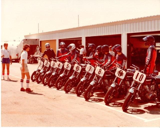 1980 Starts the first high performance school, the California Superbike School