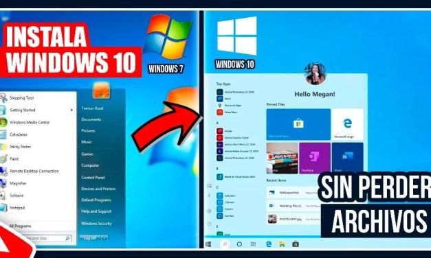Como Actualizar de Windows 7,8,8.1 a Windows 10